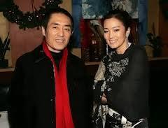 Gong Li and Zhang Yimou